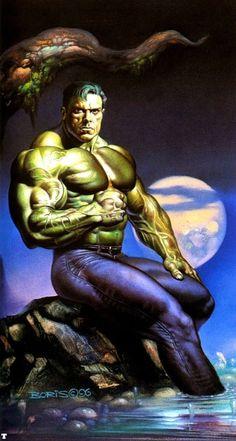 #Hulk #Fan #Art. (Hulk) By: Boris Vallejo. ÅWESOMENESS!!!™ ÅÅÅ+