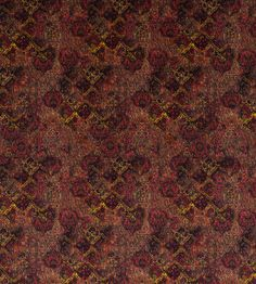 Bohemian Velvet - Plum fabric, from the Bohemian Velvets II collection by Mulberry Home