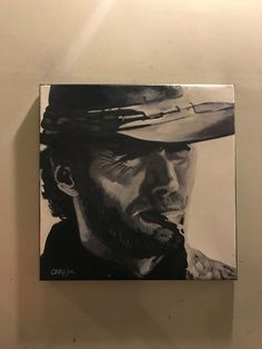 #ad Clint Eastwood Actor 18 X 18 POP ART PAINTING BY CARGILL  http://rover.ebay.com/rover/1/711-53200-19255-0/1?ff3=2&toolid=10039&campid=5337950191&item=222921797106&vectorid=229466&lgeo=1