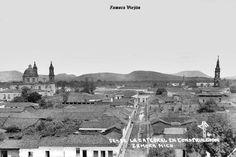 Panoramica parcial de Zamora Michoacan Mexico