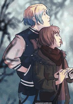 vngnc:  I animated another Pricefield fanart. This time from @surimistick. I love her artwork and fanfic so much I feel like doing gif for her artwork.  I swear Life is Strange fandom is one of the best fandom ever.
