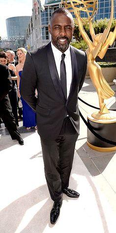 Emmy Awards 2014: Arrivals : Idris Elba