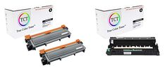 TCT Premium Compatible Toner Cartridge and Drum Unit Replacement for Brother Works with Brother Printers 1 - 3 Pack Toner Cartridge, Printers, True Colors, Drum, It Works, Brother, Packing, The Unit, Bag Packaging