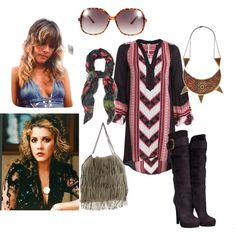 Stevie Nicks' Style For Mommy-To-Be