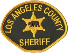 US State of California, Los Angeles County Sheriff Department Patch