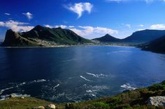 Hout Bay, Cape Peninsula Hout Bay from Chapman's Peak Drive, Cape Peninsula, South Africa. Cape Town Holidays, Exotic Beaches, Honeymoon Places, Most Beautiful Cities, Holiday Destinations, Lonely Planet, Places To See, South Africa, National Parks