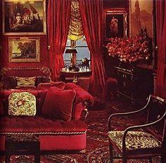 Oscar de la Renta's NYC Home, Denning & Fourcade, c.1988