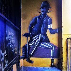 Αισχύλου Ragnar, My World, Athens, Namaste, Greece, Street Art, Batman, Superhero, Happy