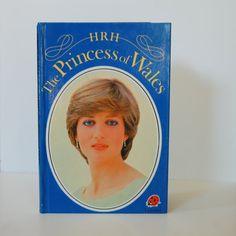 HRH Princess of Wales  Princess Diana 1982 by TheVintageBook, $3.50