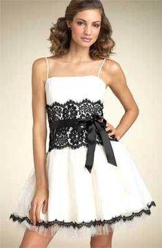 Vestido blanco de vestidos de fiesta modelo