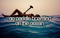 bucket list- go paddle boarding on the ocean. I figured out how to paddle surf! Stuff To Do, Things To Do, Fun Stuff, Bucket List Before I Die, Sup Stand Up Paddle, Standup Paddle Board, Sup Surf, Remo, Summer Bucket Lists