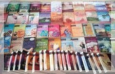 Ein Teppich voller Mira-Romane die zum verweilen und Träumen einladen. Christine