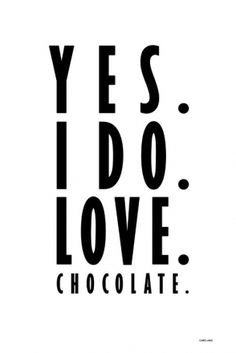 love. chocolate.
