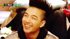 That eye smile, darn you Taeyang, such a cutie pie! XD