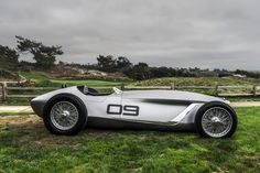 Infiniti's electrifying retro race car shines in front of the cameras