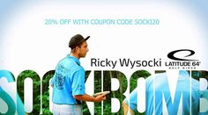Ricky Wysocki is offering 20% off all merchandise on his online store  SockiBomb.com. Use code SOCKI20 at checkout to receive the discount. GET  DEAL 448400a63180