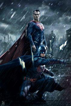 Batman vs Superman  Deviant art link : http://fav.me/d8d2ymb