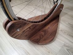 Bike Stand by WakeUpWoodworks on Etsy