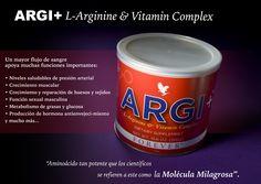 """Los Científicos se refieren al ARGI+™ como la """"Molécula Milagrosa""""  Descubre por que en https://www.foreverliving.com/marketing/Product.do?code=320"""
