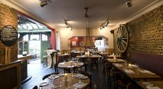 Popular bar and restaurant. Intimate and friendly. The Coach House.