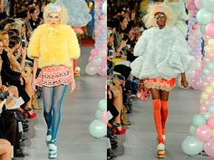 No Debutante: Meadham Kirchhoff - My favourite collection from SS2012
