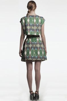 Daniel Silverstein Turaco Top and Skirt