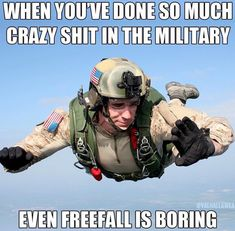 Yep been there! Military Jokes, Army Humor, Army Memes, Military Life, Laugh Or Die, Military Motivation, Dog Jokes, Warrior Quotes, Military Pictures