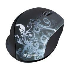 Verbatim - Wireless Optical Mouse - Graphite (Grey), 97786