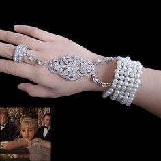 The Great Gatsby Jewelry Set 1920's Style by Prettybridejewelry, $34.99