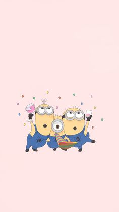 Cute Minions Wallpaper, Minion Wallpaper Iphone, Disney Phone Wallpaper, Marvel Wallpaper, Cute Wallpapers For Ipad, Dont Touch My Phone Wallpapers, Cute Cartoon Wallpapers, Funny Disney Characters, Happy Birthday Minions