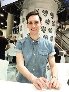 Cory Michael Smith at San Diego Comic Con, 2015