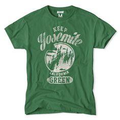 Keep Yosemite Green T-Shirt