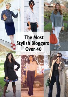 Great list of blogs with fashion for women over 40.