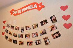cha-de-panela-economico-e-tematico-picnic (13) Marry Me, Photo Wall, Frame, Wedding, Boss Lady, Party Ideas, Tattoos, Spring, Themed Bridal Showers