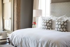 The master suite is a calming oasis.