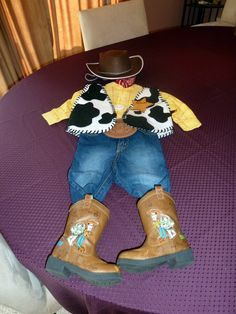 How to Make a Woody Costume With Little-to-No Creative Ability and also  CHEAP and thats what I need. I will be attempting this for Kaden for  Halloween this ... e80c6b3e4f52