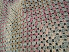 Square blanket 2012 Square Blanket, Crochet, How To Make, Ganchillo, Crocheting, Knits, Chrochet, Quilts
