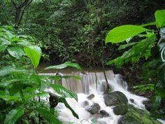 Waterfall in river at Rincon de la Vieja, Costa Rica
