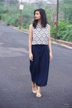 When I speak of monsoon, most of you can picturise the green landscape and the smell of the lovely wet soil that freshens up… Indian Fashion Dresses, Indian Designer Outfits, Fashion Outfits, Fasion, Frock Fashion, Fashion Hub, Fashion Pants, Fashion Tips, Western Dresses For Women