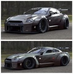 Nissan skyline gtr-5...sexiest car ever. Great engine. I wanna drift!