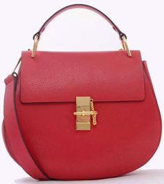 Red Chloe Medium Drew Shoulder Bag sale at cheap price - USD 329.  Free Global shipping.  Visit site http://www.luxtime.su/chloe-bags