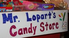 Mr Lopart candy bar