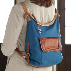 Convertible backpack/purse