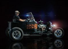 Flames Into The Night .... by Rat Rod Studios, via Flickr