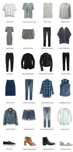 guarda roupa funcional, armário cápsula, inspiração, moda.