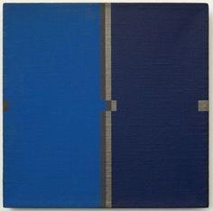 Willys de Castro . Estudo para partes entre planos, 1977, óleo sobre tela, 34,6 x 34,7 cm(Foto: Divulgação)