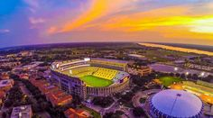 Death Valley home of LSU TIGERS football