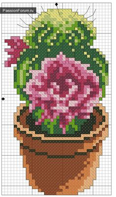 images attach c 9 107 103 Cactus Cross Stitch, Cross Stitch Love, Cross Stitch Needles, Cross Stitch Flowers, Modern Cross Stitch Patterns, Cross Patterns, Cross Stitch Designs, Cross Stitching, Cross Stitch Embroidery