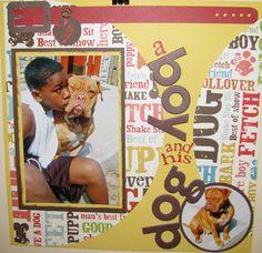 A boy and his dog - Scrapbook.com