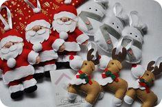 Enfeites de Natal    Encomenda da Ana Luísa.
